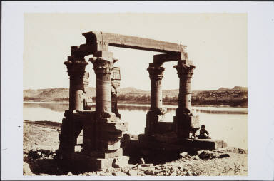 The Temple of Wady Kardassy, Nubia