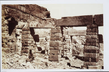 The Temple of Gerf Hossayn, Nubia
