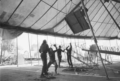 Setting Up Circus Tent-Circus Knie