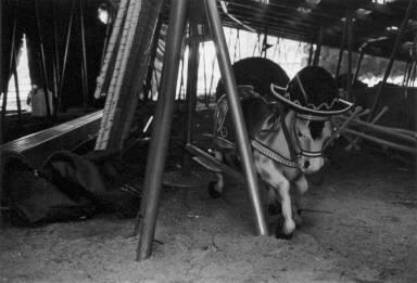 Dismantled Carousel-Circus Knie