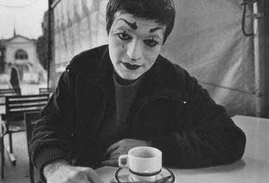 Circus Performer Having Coffee-Circus Knie
