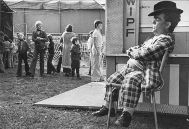 Circus Clown Seated-Circus Knie