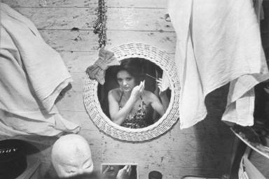 Woman at Mirror-Circus Knie