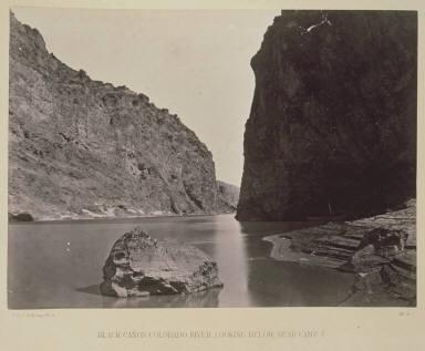 Black Canon, Colorado River. Looking Below near Camp 7.