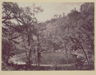 Apache Lake, Sierra Blanca Range, Arizona.
