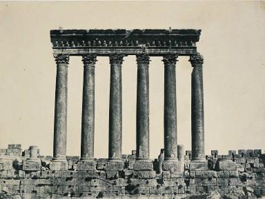 Syrie. Baalbeck (Héliopolis) Colonnade du Temple di Soleil