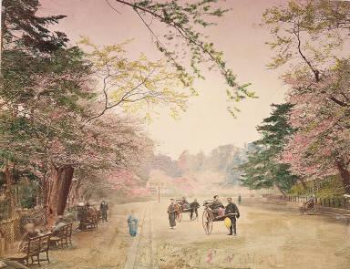 Public Gardens at Uyeno - Tokiyo