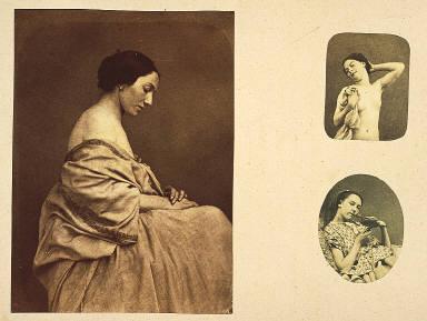 Female portrait with bird