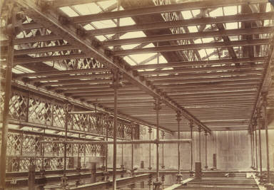 Steel girders, Paris Opera