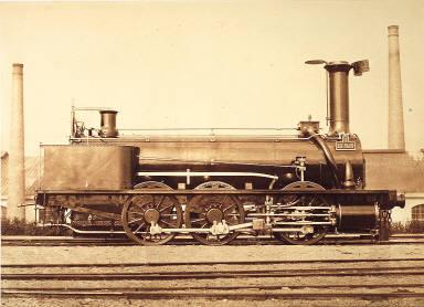"The locomotive, ""La Vaux"""