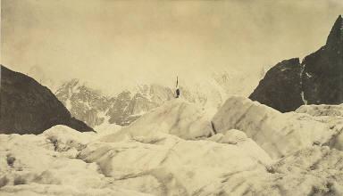 Pyramide de l'Imperatrice, Mer de glace.