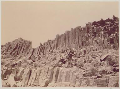 Trachyte Columns. Trinity Mountains, Nevada.