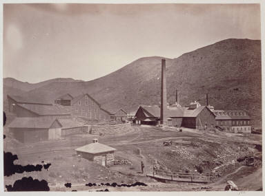 Gould and Curry Mine, Comstock Lode Mine Works, Virginia City.