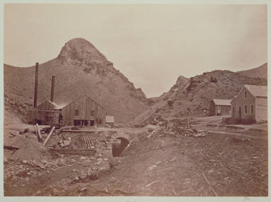 Sugar Loaf in Six Mile Canon, Virginia City
