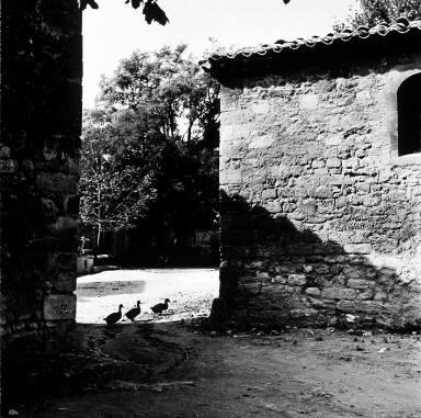 Street scene in St. Restitit, southern France