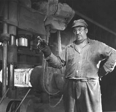 """Tiny"" Stirtzinger of Atlas Steel"