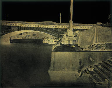 Rouen. Une Des Arcades Du Pont De Pierre Livre Au Public en 1829.