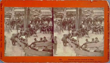 General Grant's Council of War