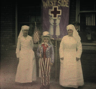 WWI Support Parade