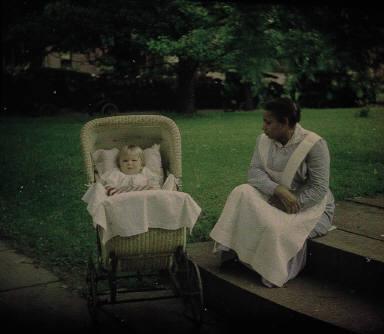 Child and nurse