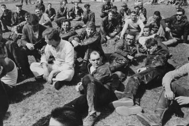 Riders' meeting, Elkhorn, Wisconsin