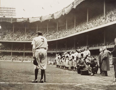 Babe Ruth bows out