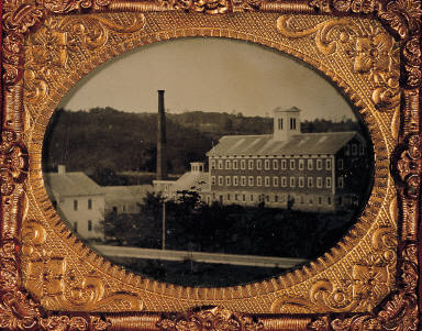 View of Cotton Mill building, Rockville, Ct.