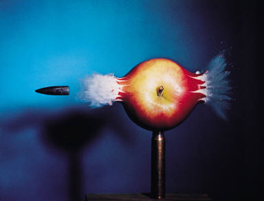 .30 Bullet Piercing an Apple, 1964