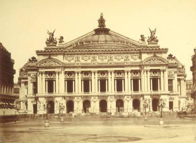 Paris Opera, nearing completion
