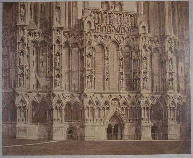 Wells Cathedral, Sculptures of the West Front