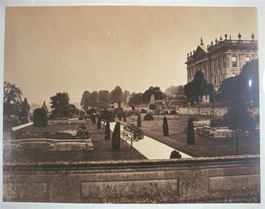 Chatsworth, The Palace of the Peak, The Italian Garden