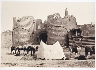 The Bab El-Azab Citadel Gateway, Cairo