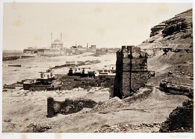 The Citadel of Cairo From Below Gebel El-Mukattam