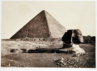 The Sphynx and the Great Pyramid, Geezeh
