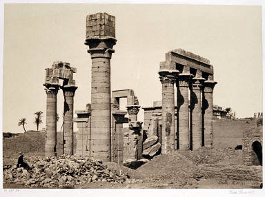 Cleopatra's Temple at Erment Near Thebes