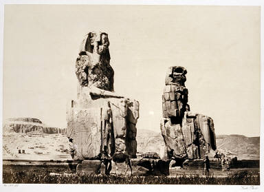 The Statues of Memnon, First View
