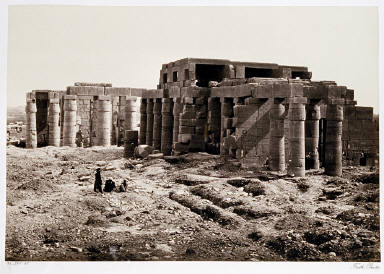 The Rameseum, Thebes