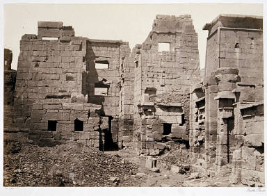The Temple Palace, Medinet Haboo