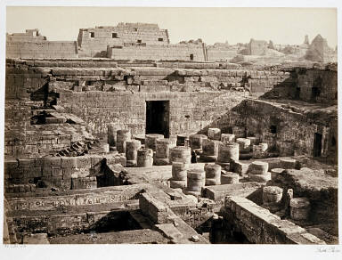 New Excavations at Medinet-Haboo- Thebes