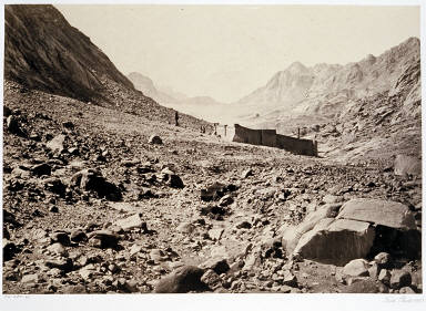 The Convent of Sinai and Plain of Er-Raha