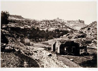 Jerusalem, From the Well of En-Rogel