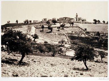The Church of the Ascension. Mount of Olives
