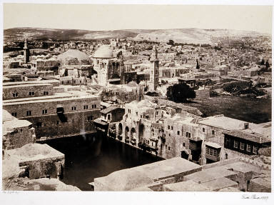 The Pool of Hezekiah, Jerusalem