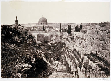 City Wall and Mosque of Omar &c. Jerusalem
