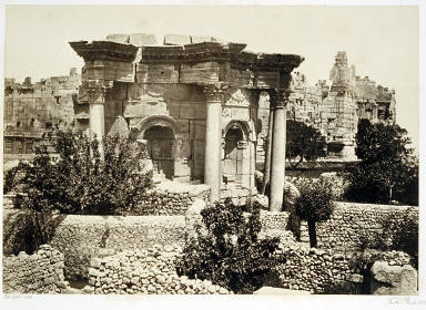 The Circular Temple- Baalbec