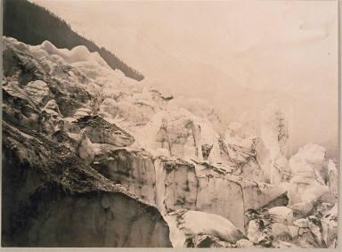 Auguille & Dome du Goute, from the Glacier du Bois, Chamonix