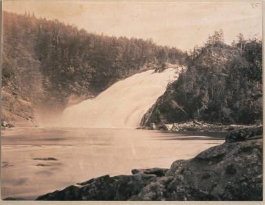Falls, Riviere du Lonpeu Bas. Canada East