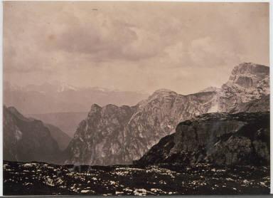 The Novie Alps from Monte Piana