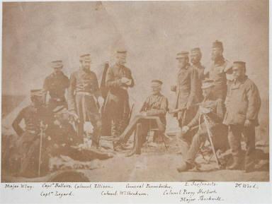 Lieu.t Gen.l Sir J.L. Pennefather & Staff