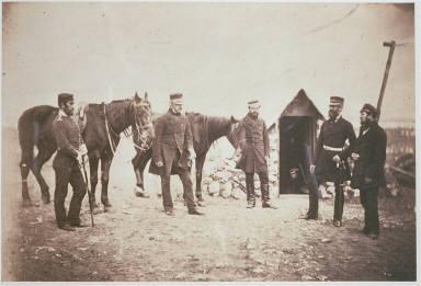 Major Gen.l Garrett & Officers of his Staff